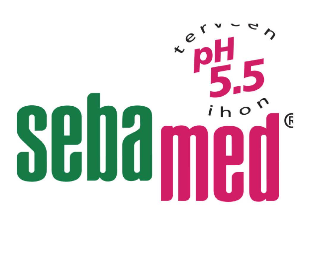 sebamed logo verkkosivut